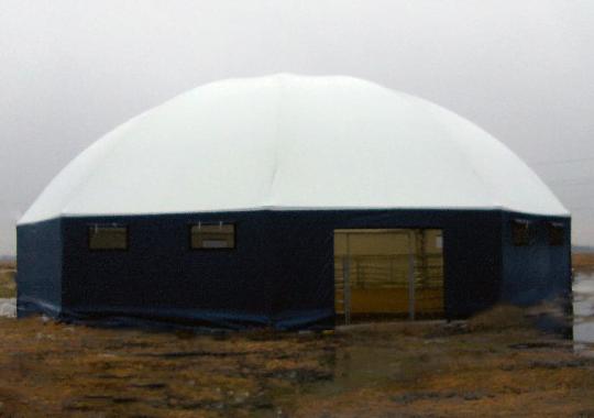 Exterior of Riding Arena