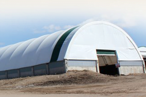 Truss Arch Wall Mount Quonset